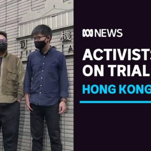 Hong Kong pro-democracy activists plead guilty to protest charges   ABC News