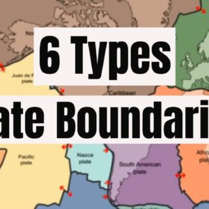 6 Plate Boundaries