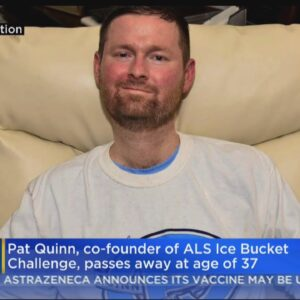 ALS Ice Bucket Challenge Co-Founder Pat Quinn Dead At 37