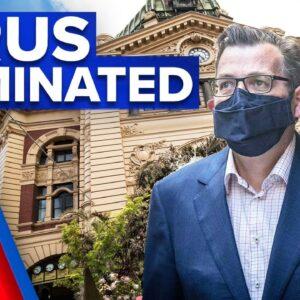Coronavirus: Victoria eliminates COVID-19   9 News Australia
