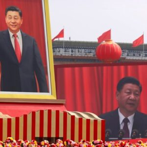 Doctored Chinese photograph is 'disgusting fake news'