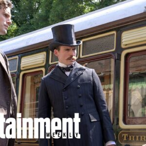 Millie Bobby Brown & Henry Cavill In Enola Holmes First Look | News Flash | Entertainment Weekly