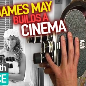 James May BUILDS a Cinema!   James May's Man Lab   Episode 3   Reel Truth Science