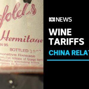 China slaps 'devastating' tariff on Treasury Wine Estates, including Penfolds | ABC News