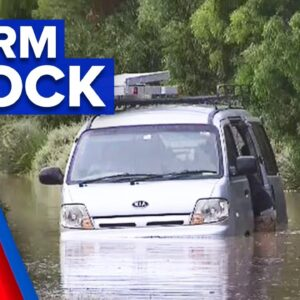 Victoria lashed by severe storms | 9 News Australia