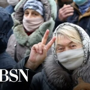 WorldView: Belarus protests, China moon launch, and more global headlines