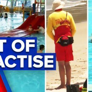 Coronavirus: Concerns for missed swimming lessons during lockdown | 9 News Australia