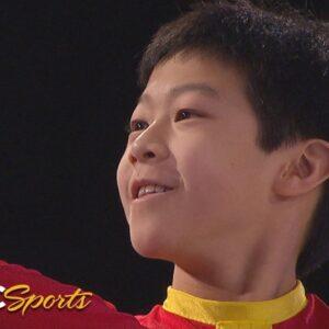 10-year-old Nathan Chen wows at 2010 Nationals gala | NBC Sports