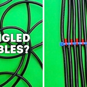 13 CLEVER CABLE ORGANIZATION TIPS
