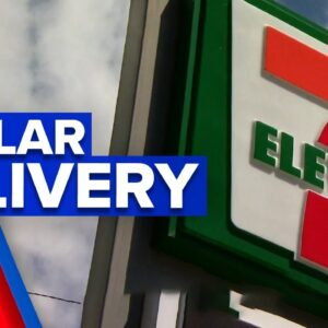 7/11 to deliver packages for $1 | 9 News Australia