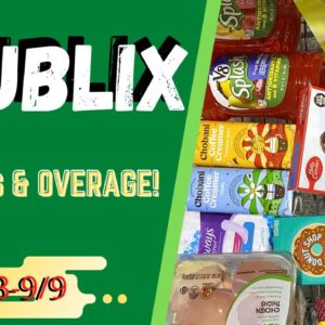 Publix Deals   🔥 FREEBIES   $4.48 For Everything   $6.02 MM Meat & More   Meek's Coupon Life