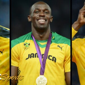 Usain Bolt's Triple-Triple: The Ultimate Gold Medal Compilation | NBC Sports
