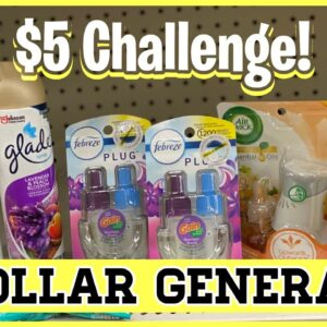 Dollar General | $5 Challenge -Overage, Overage, Overage | Grab These Deals Now | Meek's Coupon Life