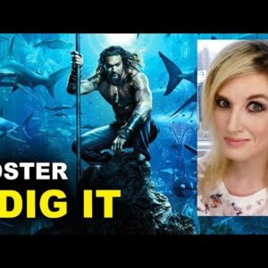 Aquaman Movie Poster REACTION
