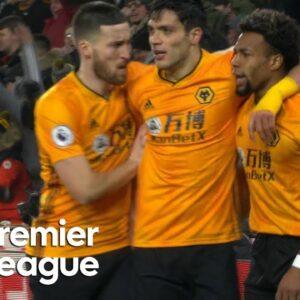 Raul Jimenez equalizes for Wolves v. Liverpool   Premier League   NBC Sports