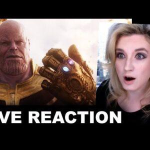 Avengers Infinity War Trailer REACTION
