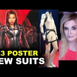 Black Widow - D23 Poster Red Guardian, White Costume