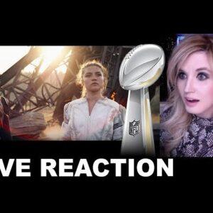Black Widow Super Bowl TV Spot REACTION
