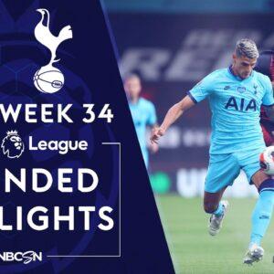 Bournemouth v. Tottenham | PREMIER LEAGUE HIGHLIGHTS | 7/9/2020 | NBC Sports