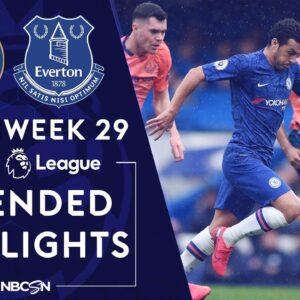 Chelsea v. Everton   PREMIER LEAGUE HIGHLIGHTS   3/8/2020   NBC Sports