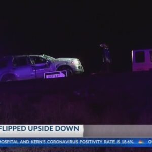 CHP investigating rollover collision in Wasco
