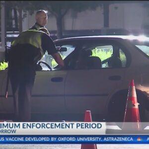 CHP to begin New Year's maximum enforcement period Thursday