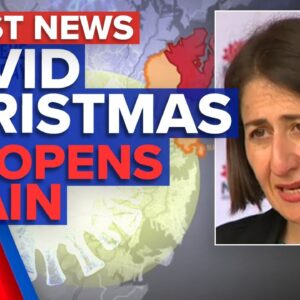 Coronavirus: Sydney's COVID Christmas, NT reopens border | 9 News Australia