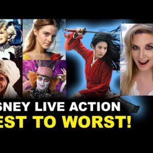 Disney Live Action Movies RANKED