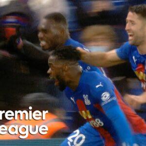 Jeffrey Schlupp nets late Crystal Palace equalizer against Tottenham | Premier League | NBC Sports