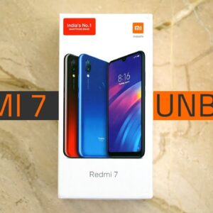 Redmi 7 Unboxing and First Look | Camera, Specifications, Features, and More