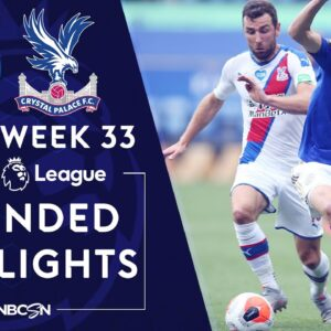 Leicester City v. Crystal Palace | PREMIER LEAGUE HIGHLIGHTS | 7/4/2020 | NBC Sports