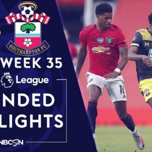 Manchester United v. Southampton   PREMIER LEAGUE HIGHLIGHTS   7/13/2020   NBC Sports