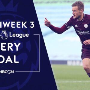 Every Premier League goal from 2020-21 Matchweek 3 | NBC Sports