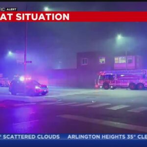 Fire At Auto Shop In West Englewood Prompts Hazmat Response