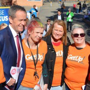 GetUp! is 'a political pyramid scheme': James McGrath