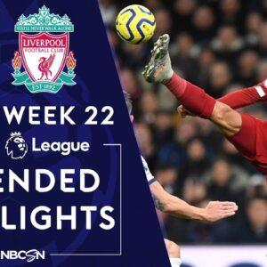 Tottenham Hotspur v. Liverpool   PREMIER LEAGUE HIGHLIGHTS   1/11/2020   NBC Sports