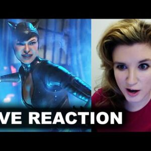 Injustice 2 Catwoman Trailer REACTION
