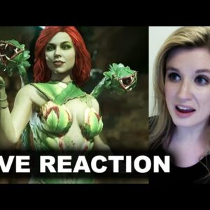 Injustice 2 Poison Ivy Trailer REACTION
