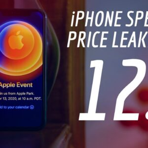 iPhone 12 Leaks: Launch Date Confirmed; Price in India, Specs Revealed?
