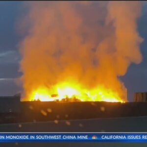 Kern County Fire gains control of haystack fire in McFarland