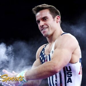 Sam Mikulak furiously rallies from behind to win American Cup again   NBC Sports