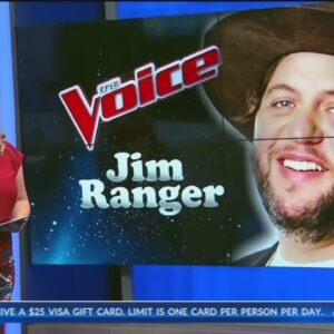 Bakersfield's Jim Ranger performs on 'The Voice' live shows, needs votes to move on