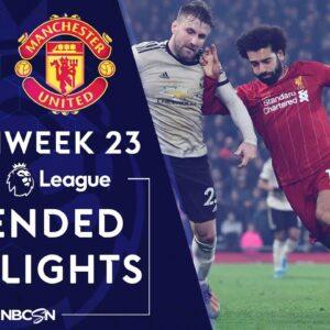 Liverpool v. Man United   PREMIER LEAGUE HIGHLIGHTS   1/19/2020   NBC Sports