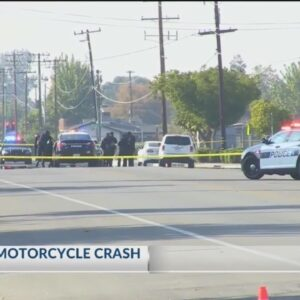 Man killed after crashing motorcycle into vehicle on Planz Road