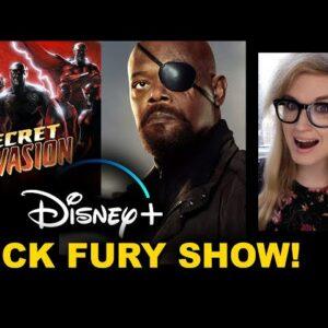 Nick Fury Disney Plus - Secret Invasion Show