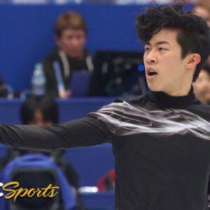Nathan Chen's gold medal winning free skate at 2019 World Championship | NBC Sports