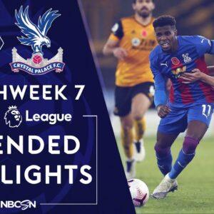 Wolves v. Crystal Palace | PREMIER LEAGUE HIGHLIGHTS | 10/30/2020 | NBC Sports