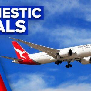 Coronavirus: More routes and savings for domestic flights   9 News Australia