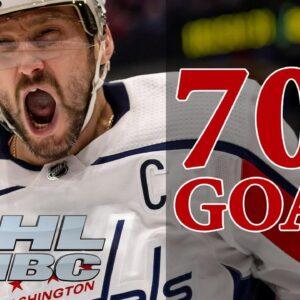 Alex Ovechkin's milestone goals on the road to his historic 700th | NBC Sports