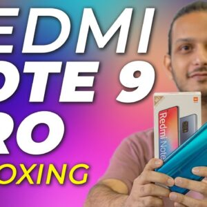 Redmi Note 9 Pro Unboxing: Insane Specs at Great Price?